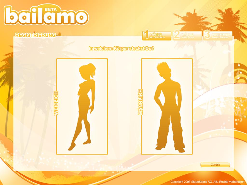 Bailamo - Avatar configurator