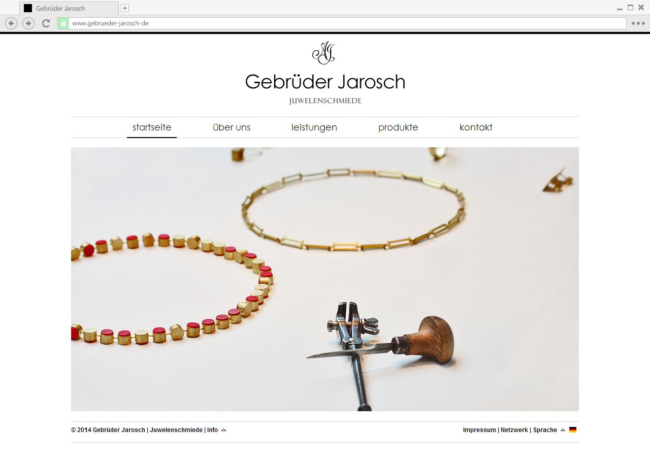 Gebrüder-Jarosch - Main page