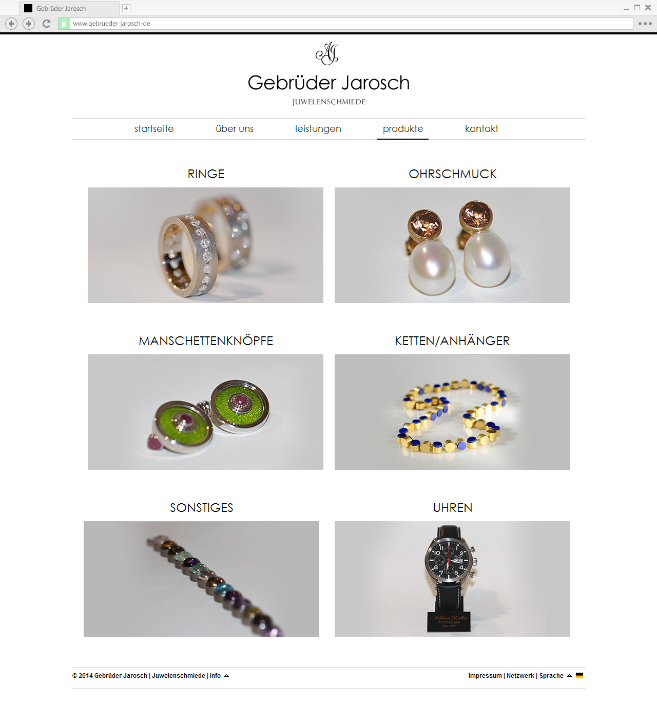 Gebrüder-Jarosch - Products overview