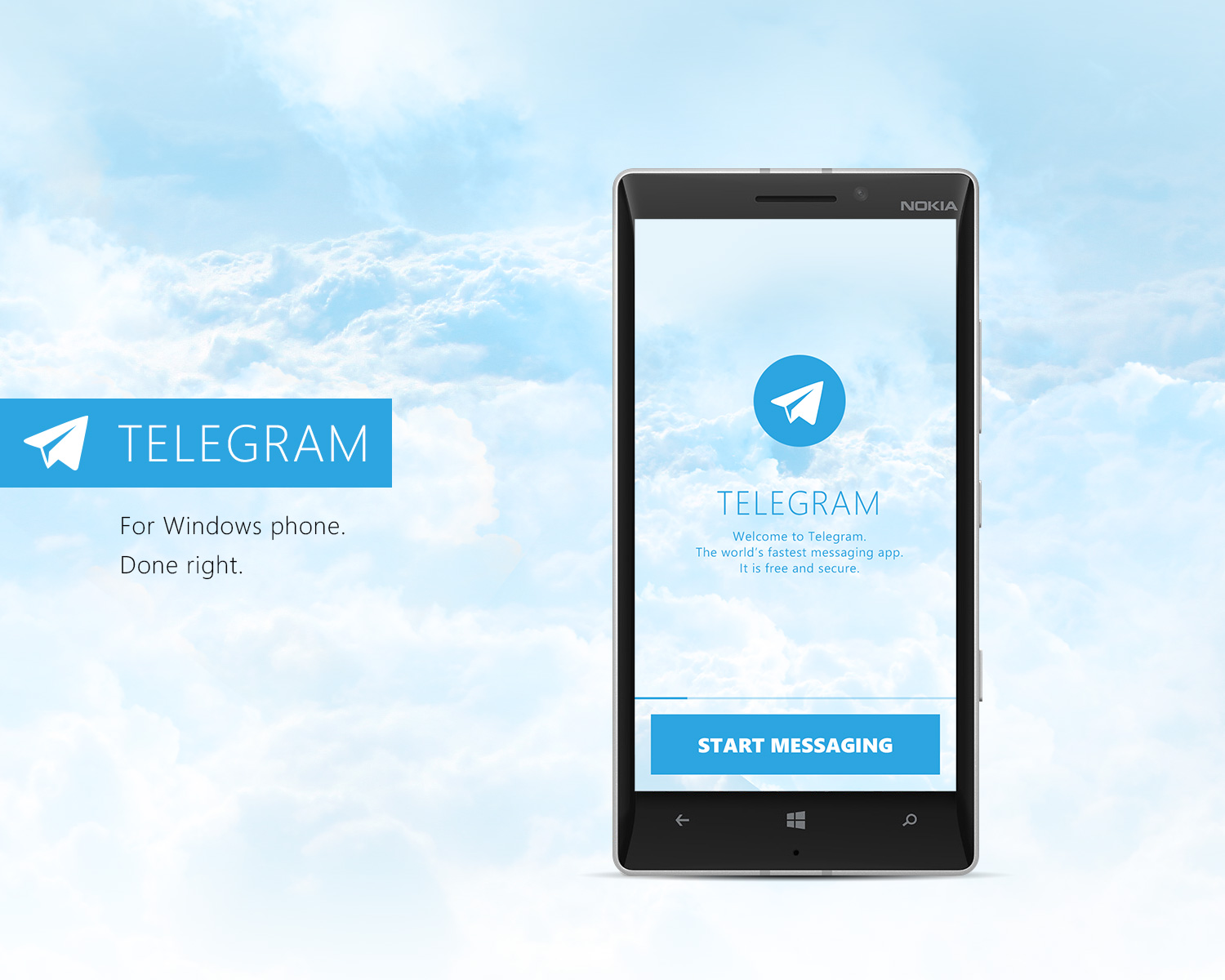 Telegram - Concept for Windows Phone