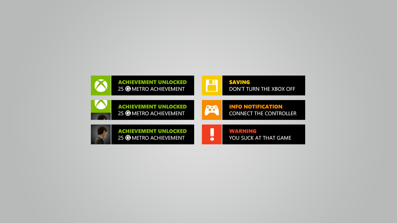 Xbox notifications