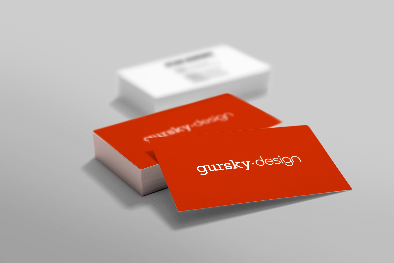 Gursky Design - Business cards