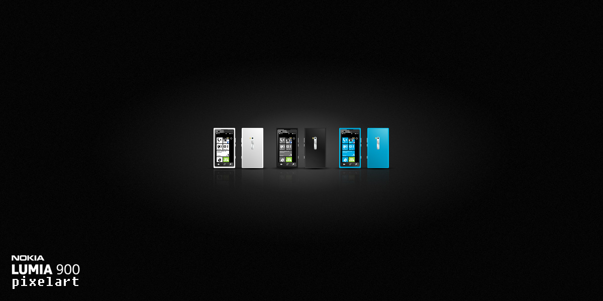 Nokia Lumia 900 Pixelart
