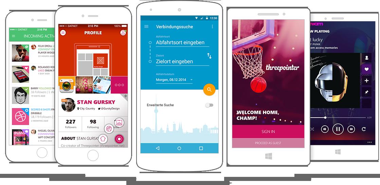 Mobile & tablet apps hero